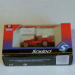 Solido no 2117 jeep devidoir fire engine car 1:43 model @sold@